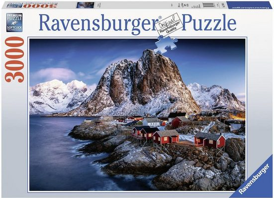Ravensburger Puzzle »Hamnoy, Lofoten«, 3000 Puzzleteile, Made in Germany