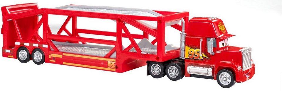 Vellidte Mattel® Spielzeug-LKW »Disney Cars Mack Transporter« online kaufen RQ-63