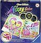Ravensburger Malvorlage »Mixxy Colors Glow Edition - Traumhafte Flamingos«, Made in Europe, Bild 1