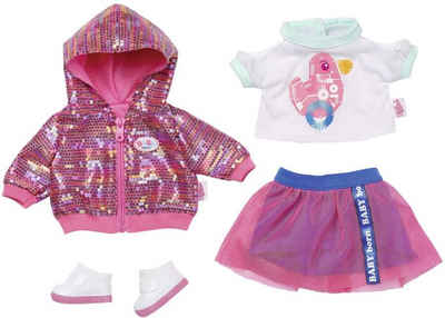 Puppen & Zubehör Puppenstrampler Mütze 41-43 cm Babypuppen & Zubehör NEU Puppenkleidung 2tlg