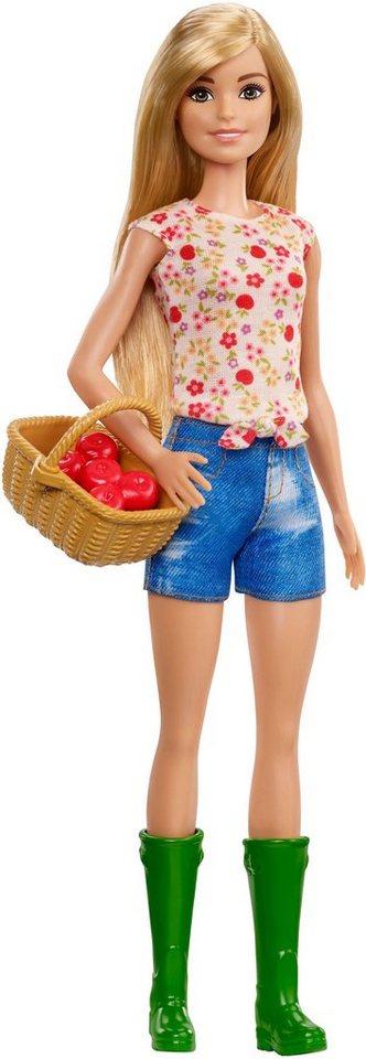 mattel anziehpuppe barbie spa auf dem bauernhof. Black Bedroom Furniture Sets. Home Design Ideas