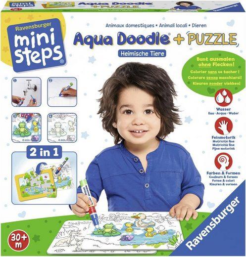 ravensburger malvorlage »ministeps® aqua doodle® puzzle