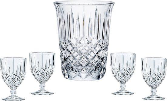 Nachtmann Gläser-Set »Noblesse« (5-tlg), für Wein, mit edlem Schliff