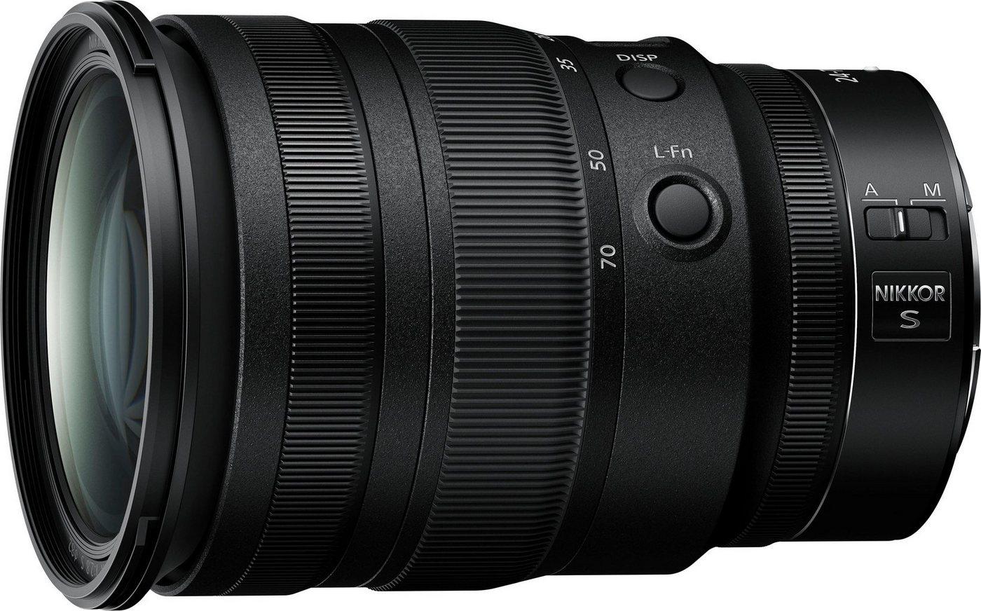 Objektive - Nikon »NIKKOR Z 24 70 mm 1 2,8 S« Zoomobjektiv  - Onlineshop OTTO