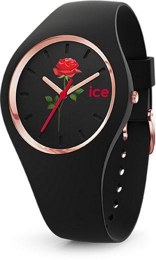 ice-watch Quarzuhr »ICE flower - Red beauty - Medium - 3H, 16673«