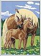 Ravensburger Malen nach Zahlen »Liebevolle Pferde«, Made in Europe, FSC® - schützt Wald - weltweit, Bild 2