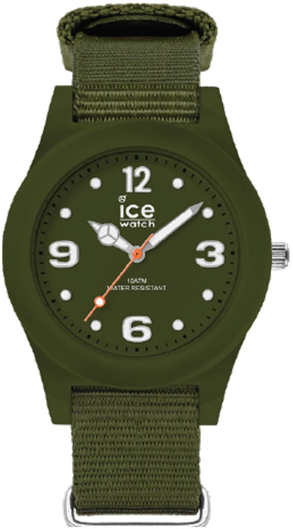 ice-watch Quarzuhr »ICE slim nature - Mountain green - Medium - 3H, 16445«