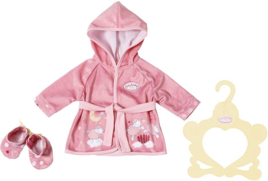 Zapf Creation Puppenkleidung, »Baby Annabell® Bademantel«