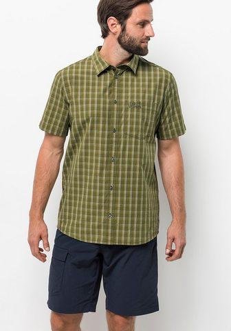 JACK WOLFSKIN Рубашка с короткими рукавами »HO...