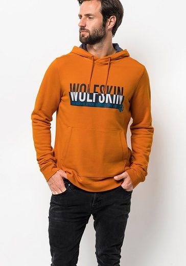 »slogan Kapuzensweatshirt Jack Hoody Wolfskin M« wYqEXq