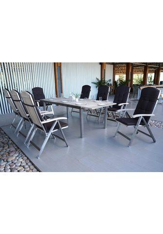MERXX Balkono baldai »Keros« 17-tlg. 8 Fotel...