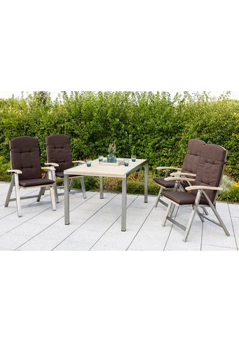 MERXX Balkono baldai »Keros« 9-tlg. 4 Foteli...