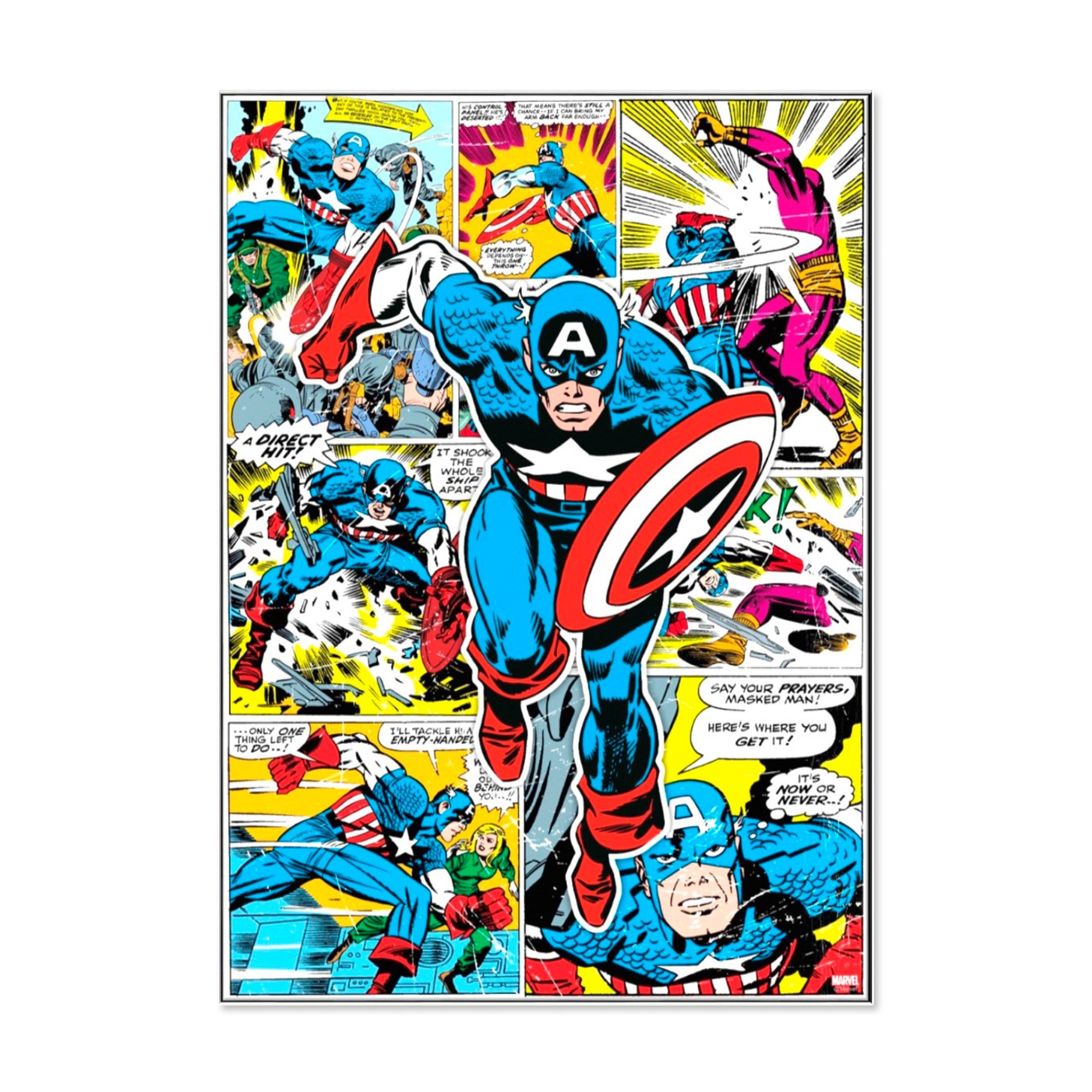 GRAHAM & BROWN Leinwand »Captain America«