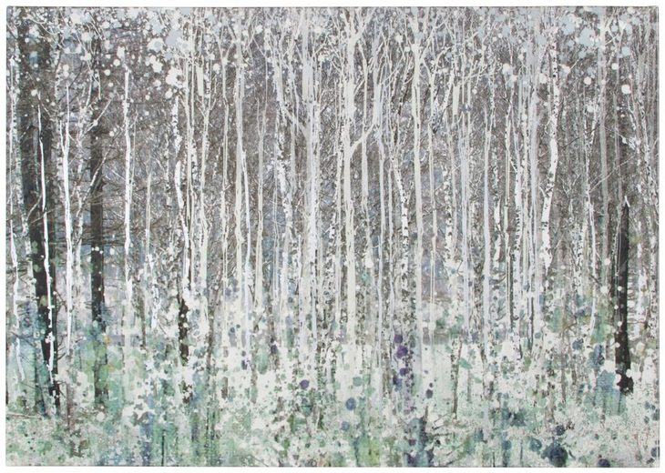 Leinwand »Watercolour woods«