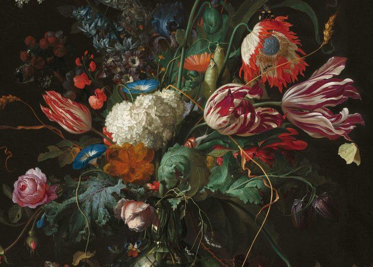 Leinwand »Vase mit Blumen«, Ausschnitt, Jan Davidsz de Heem