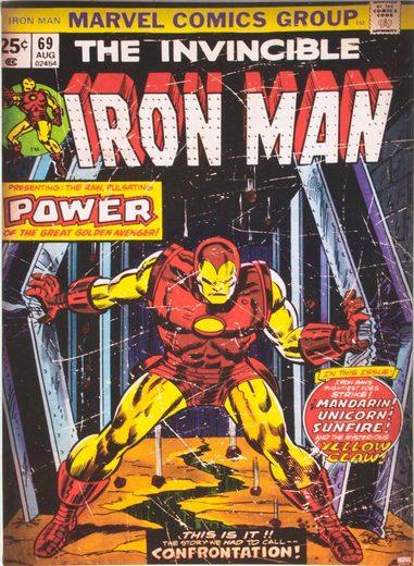 MARVEL Leinwand »Marvel Iron Man«, B/H: 50 x 70 cm