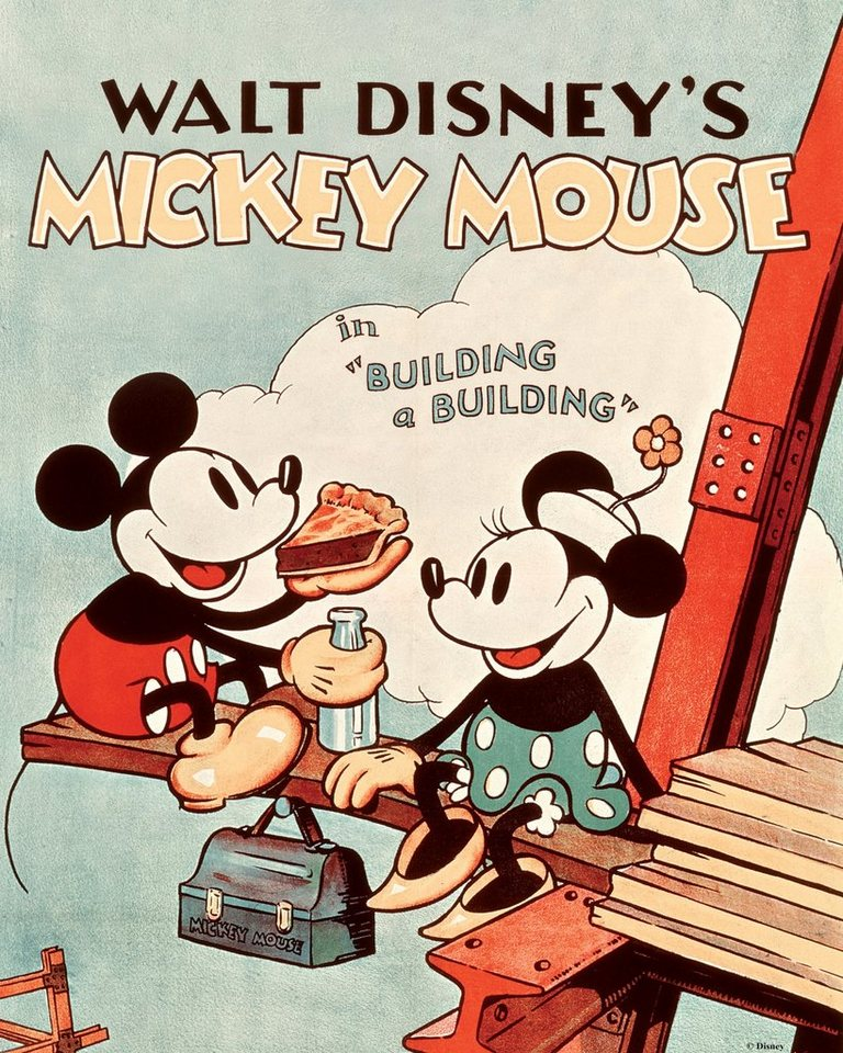 Leinwand »Mickey Mouse Retro«, Disney, 40 x 50 cm | OTTO