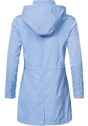 TIME Parka PEAK »L60100« Mantel Übergansjacke Kapuze mit stylische 1RdUPR
