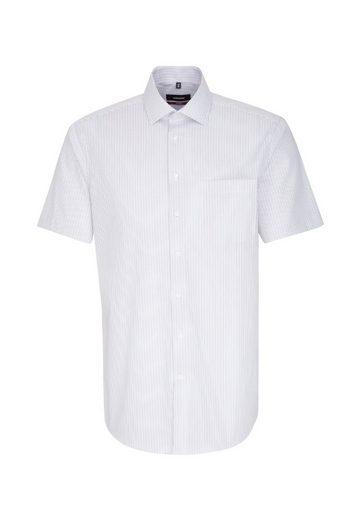 kragen Kurzarm Modern Businesshemd Streifen »modern« Kent Seidensticker SqWXxPgUwx