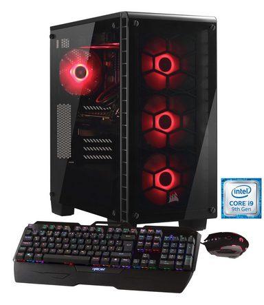 HYRICAN Gaming PC i9-9900K, 32GB, SSD + HDD, GeForce RTX 2080 »Crystal 6306 Wasserkühlung«