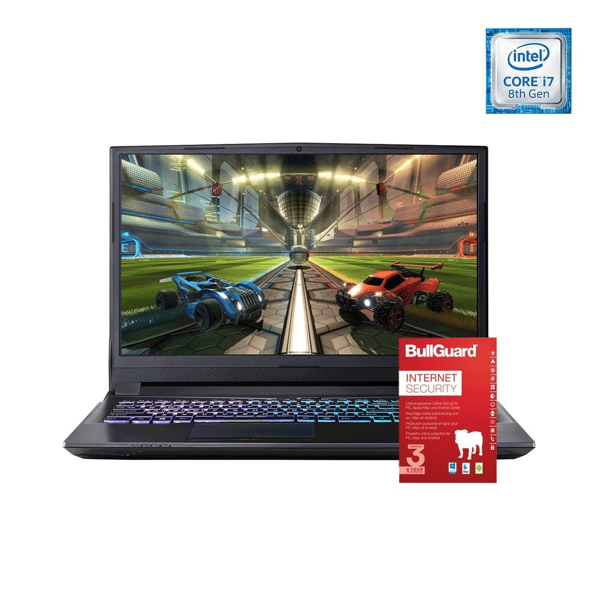 ONE GAMING Notebook, Intel® Core i7-8750H, GeForce GTX 1060, 16GB »NB 44938«