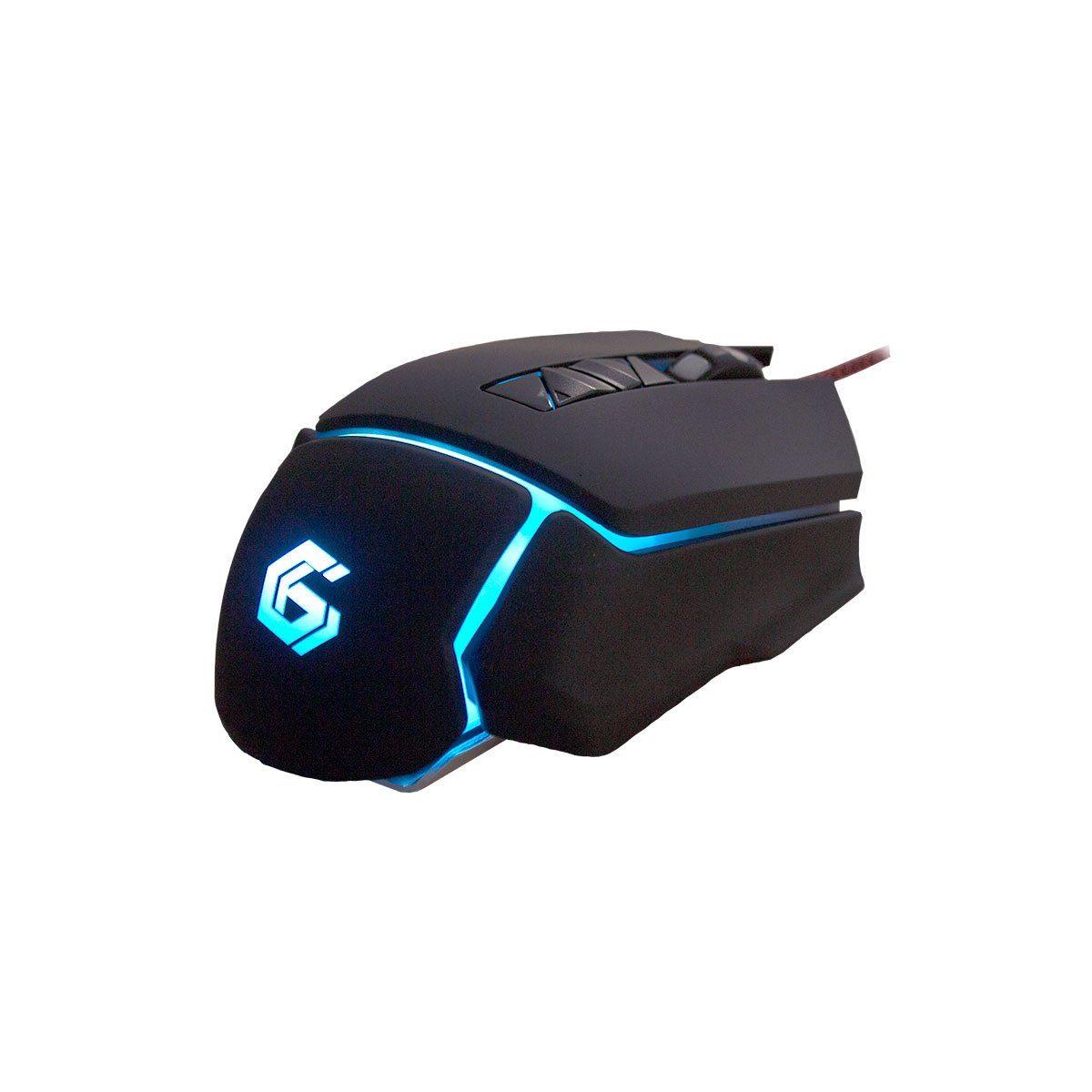Gembird Gaming-Maus »Blackhawk-Ultragrip RGB«
