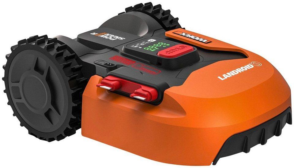Rasenroboter bis 300 qm Landroid Worx Basic S Rasenmähroboter bei Otto kaufen