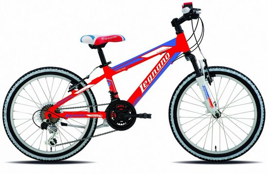 Legnano Mountainbike, 12 Gang Shimano TY-21 Schaltwerk