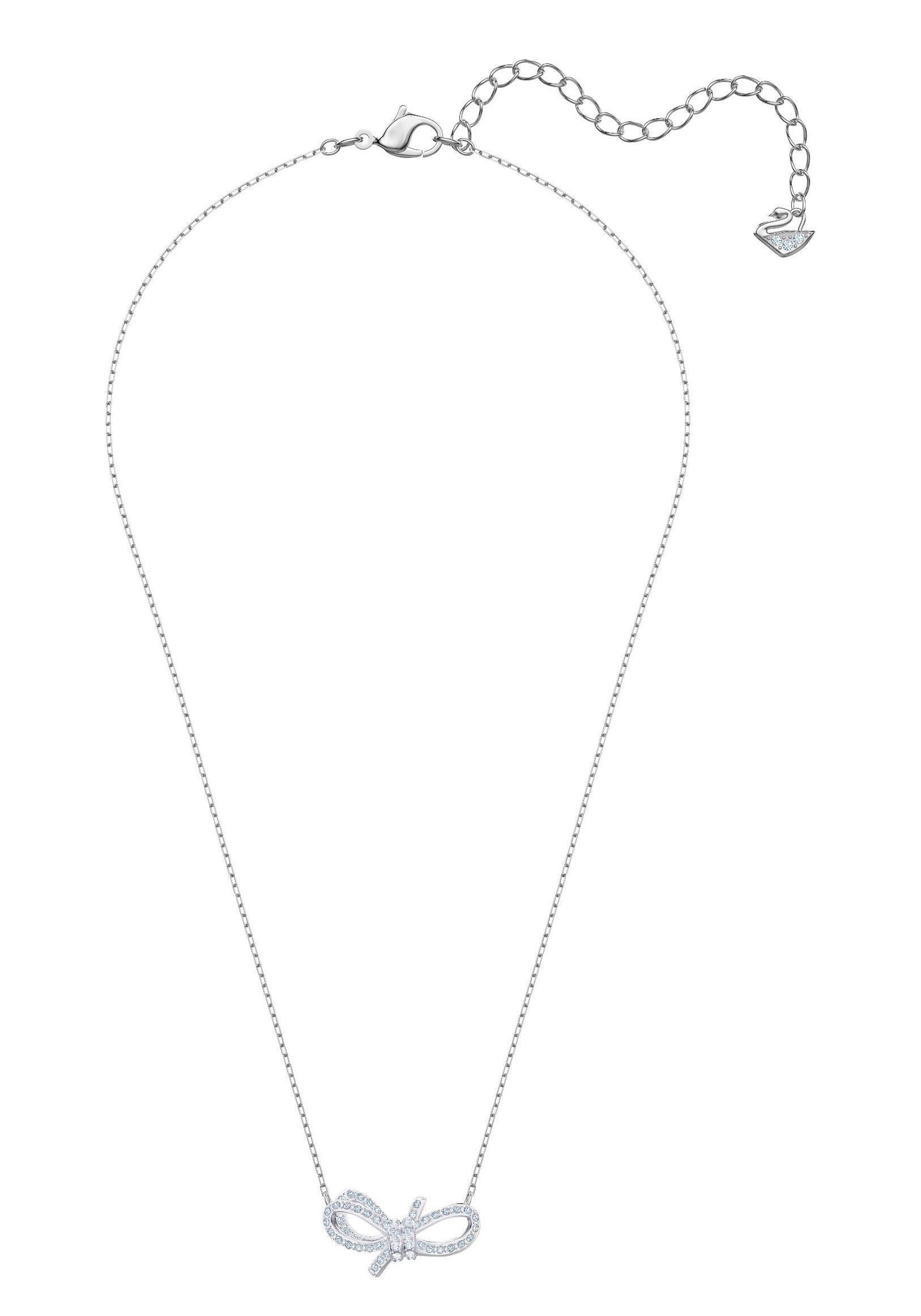 Anhänger »lifelong Swarovski® Swarovski BowWeissRhodiniert5440643« Online Kette Kristallen Mit Kaufen mN0n8w