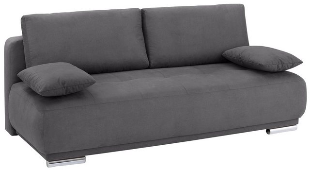 Sofas - Home affaire Schlafsofa »Hugo de Luxe«, mit Bettkasten incl. Topper  - Onlineshop OTTO