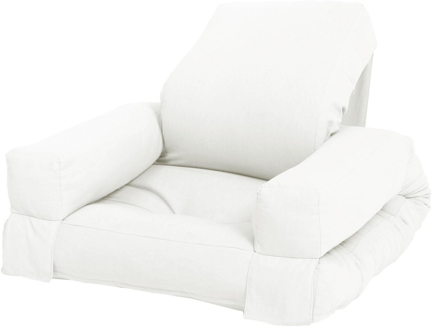 Karup Design kleiner Futon-Sessel »Mini Hippo« natur  Bett