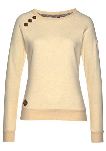 Ragwear Sweatshirt »DARIA« aus edler melange Optik