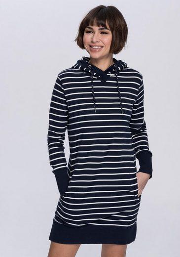 edc by Esprit Sweatkleid mit vorverlegten Seitennähten