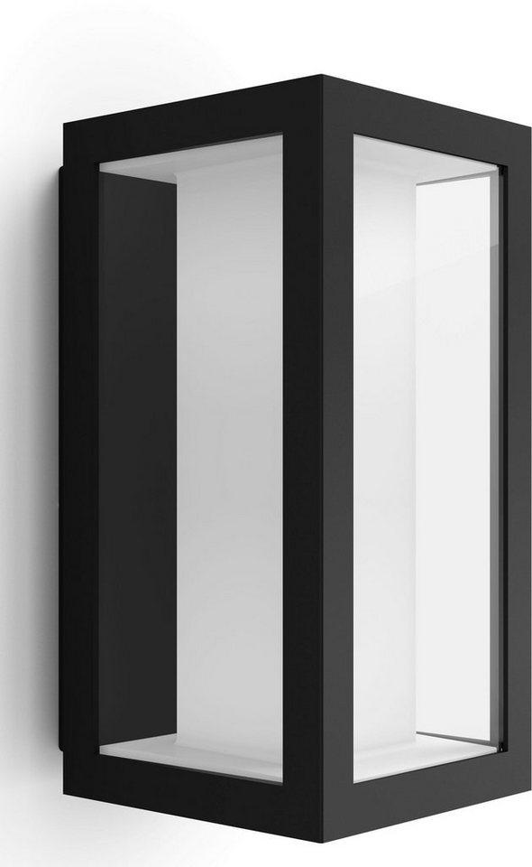 philips hue led au en wandleuchte impress 1 flammig. Black Bedroom Furniture Sets. Home Design Ideas