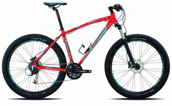 Legnano Mountainbike, 21 Gang Shimano Acera Schaltwerk