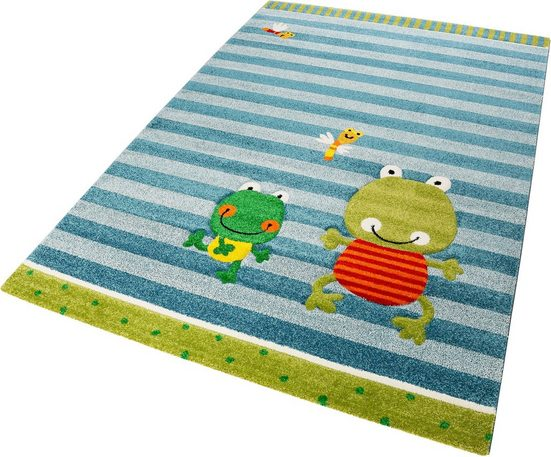 Kinderteppich »Fortis Frog«, Sigikid, rechteckig, Höhe 13 mm