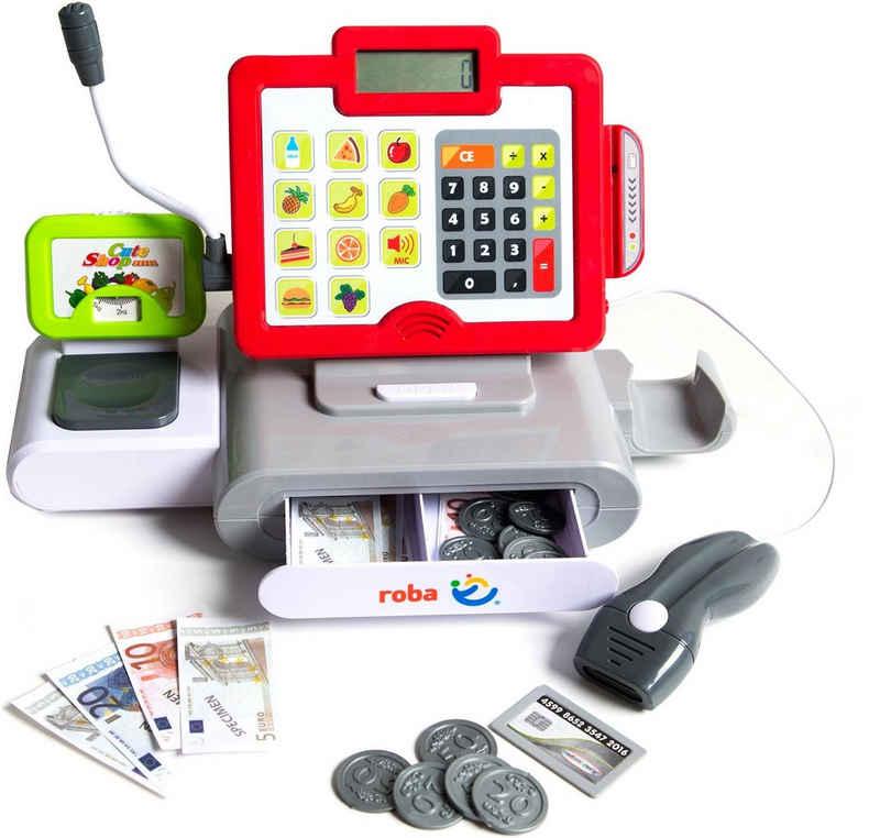 roba® Spielkasse »Kasse mit Spielgeld«, mit Licht und Sound
