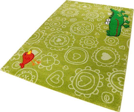 Kinderteppich »Crocodile«, Sigikid, rechteckig, Höhe 13 mm