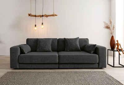 OTTO products 3-Sitzer »Grenette«, Modulsofa, im Baumwoll-/Leinenmix oder umweltschoned aus 70% recyceltem Polyester, Federkern