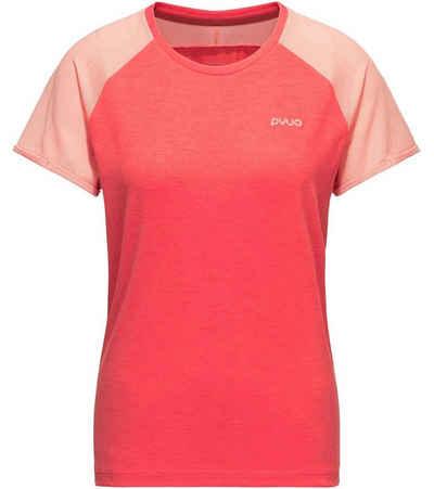 PYUA T-Shirt »PYUA Skip Freizeit T-Shirt schnelltrocknendes Damen Shirt aus recyceltem Polyester Sport-Shirt Pink«