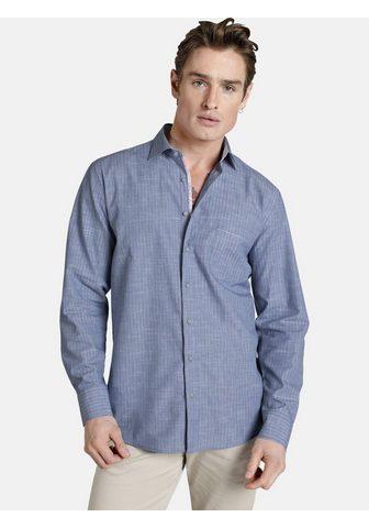 SHIRTMASTER Рубашка с длинными рукавами »blu...