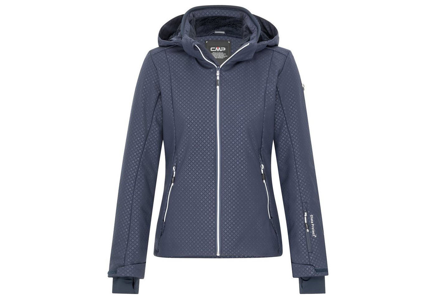 CMP Skijacke »38W0696-U901« | Sportbekleidung > Sportjacken > Skijacken | Blau | Fleece | CMP