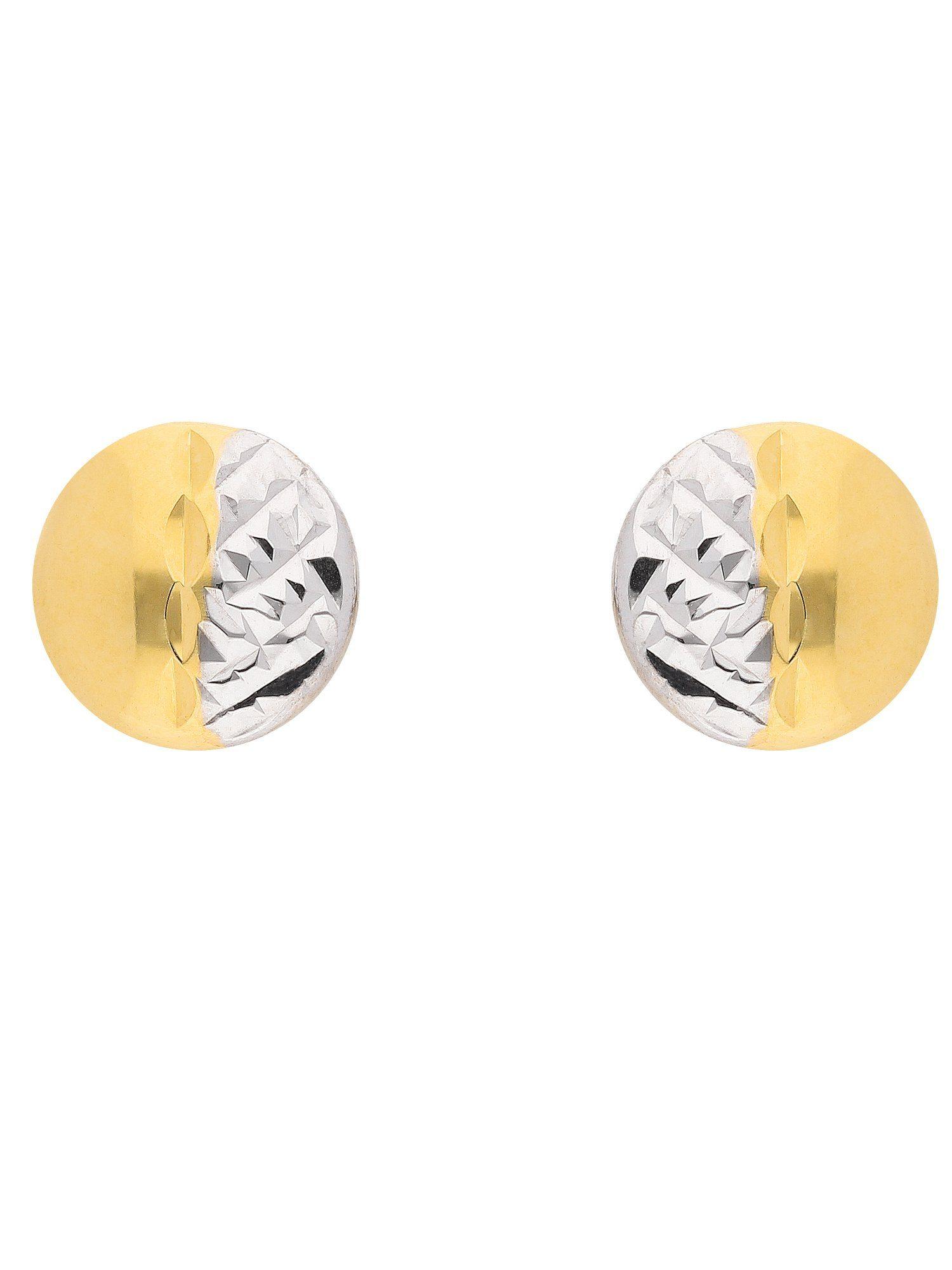 Adelia´s Paar Ohrstecker »Gold 8 k (333) Ohrringe - Ohrstecker« 8 k 333 Gelbgold