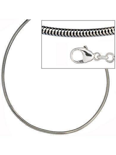 Adelia´s Kette ohne Anhänger »Schlangenkette«, 925 Silber - 50 cm