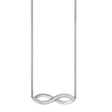 Cai Collier »925/-Sterling Silber rhodiniert Topas Infinity«