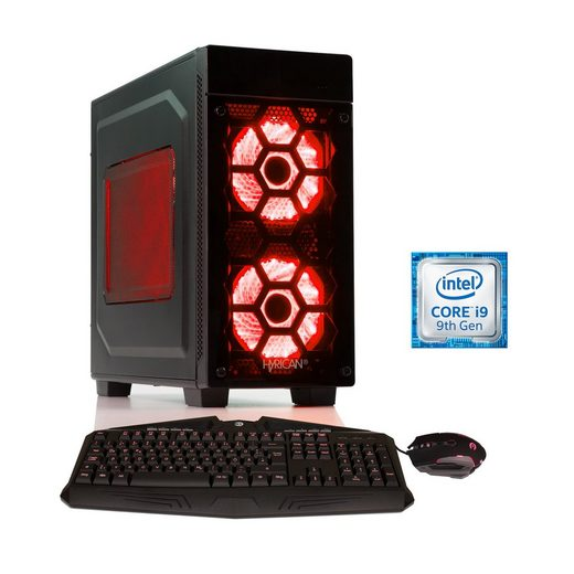 HYRICAN Intel i9-9900K, 32GB, SSD + HDD, GeForce RTX 2080 Ti »Striker 6312«