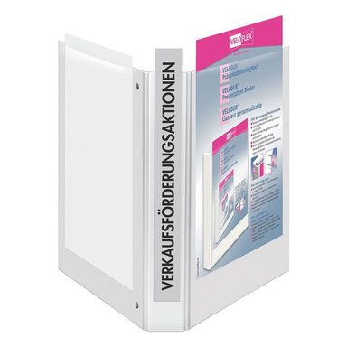 VELOFLEX Präsentationsringbuch (4 Ringe) bis 250 Blatt A4 »VELODUR® 41431«