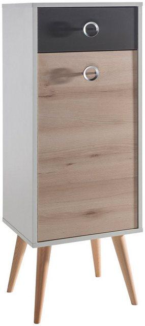 Badschränke - SCHILDMEYER Badunterschrank »Rimini«, Maße (H B T) in cm 113,5 40,5 33  - Onlineshop OTTO