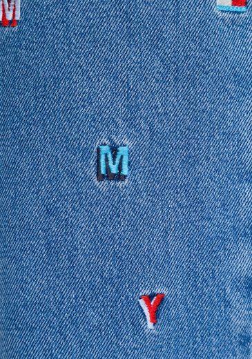 Taillenjeans Mit Jeans Tommy Kleinen Vielen Markenstickereien fa85qw