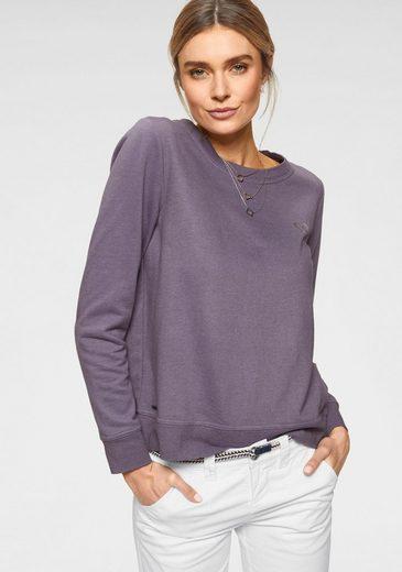 KangaROOS Sweatshirt mit dekorativem Druck auf der Brust